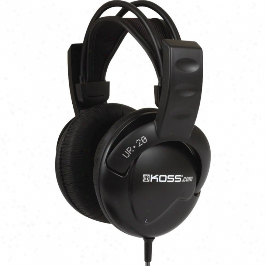 Koss U20 Dj Headphones With Single-sided Cord