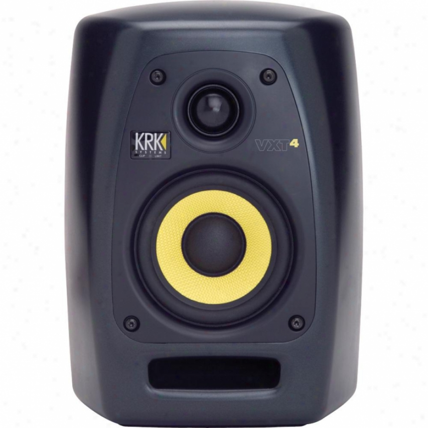 "Krk Systems 4"" 180 Watt 2-way Studio Monitor - Black"
