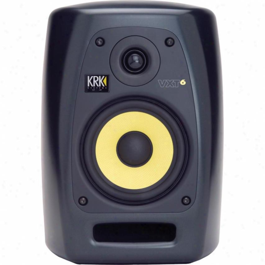 "Krk Systems 6"" 180 Watt 2-way Studio Monitor - Black"