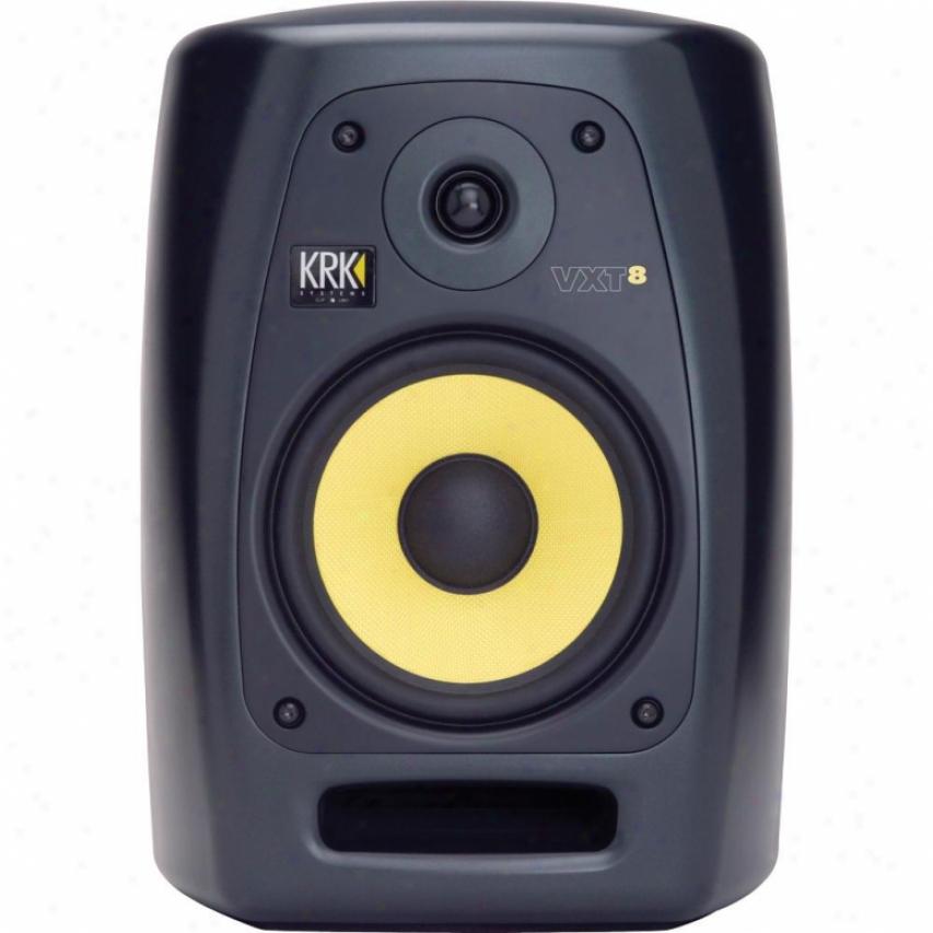 """Krk Systems 8"""" 180 Watt 2-way Studiio Monitor - Black"""