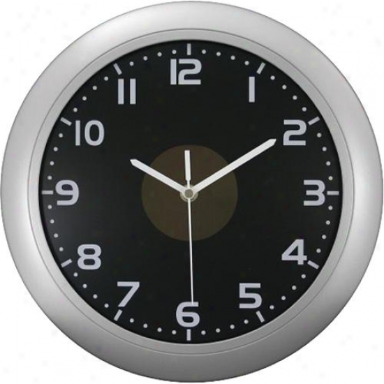"La Crosse Technology Ltd Elc 12"" Solar Analg Wall Clock"