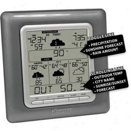 La Crosse Technology Ltd Wd 4 Day Forecast Gray
