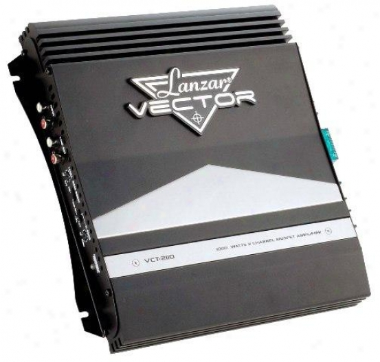 Lanzar 1000 Watts 2 Channel High Power Mosfet Amplifier