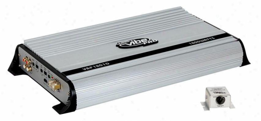 Lanzar 1800 Watrs Mono Block Mosfet Digital Power Amplifier