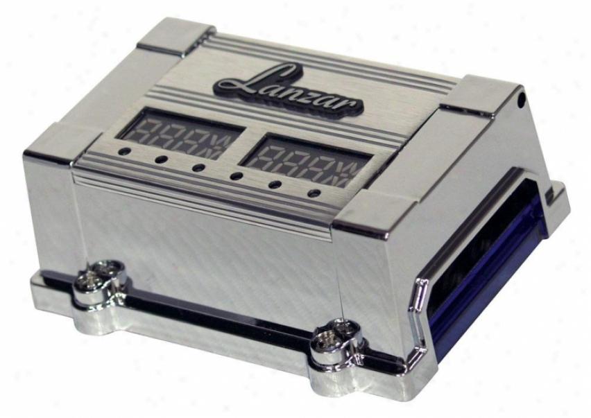 Lanzar 2-4 Digital Match Block Dual Led Display Optidrive Optifb10448