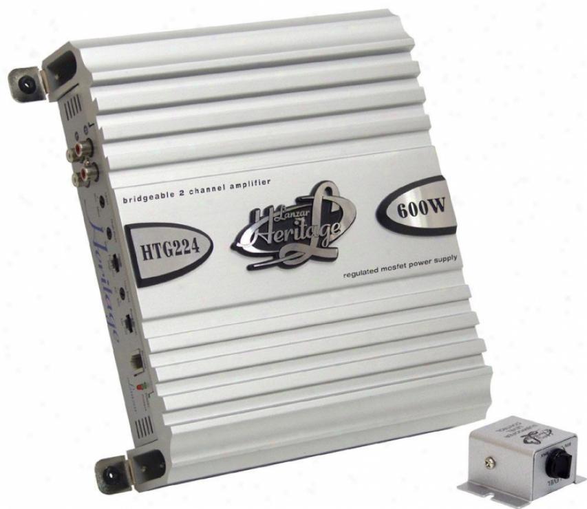 Lanzar 2 Channel 600 Watts Boastful Power Mosfet Amplifier