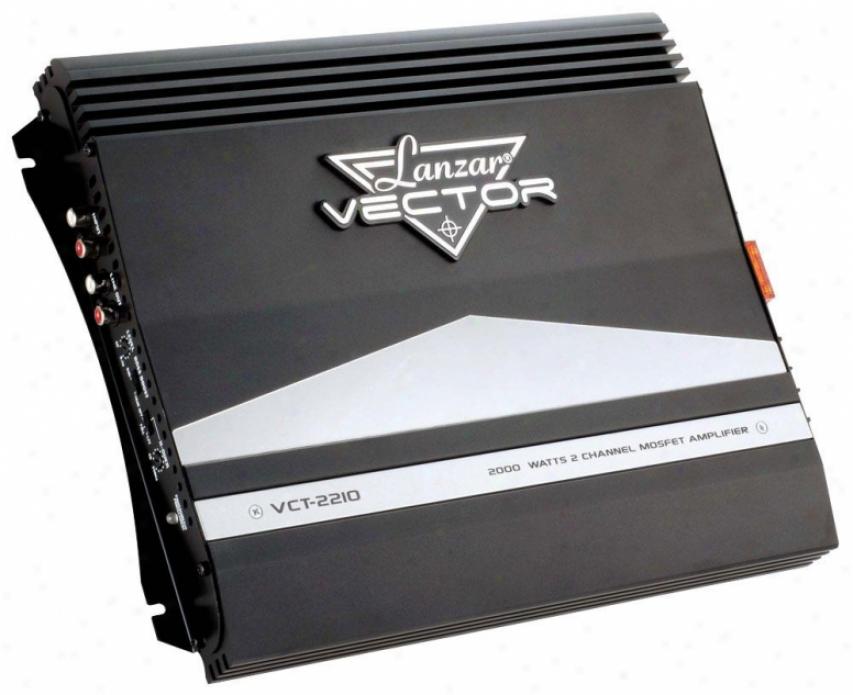 Lanzar 2000 Watts 2 Channel High Power Mosfet Amplifier
