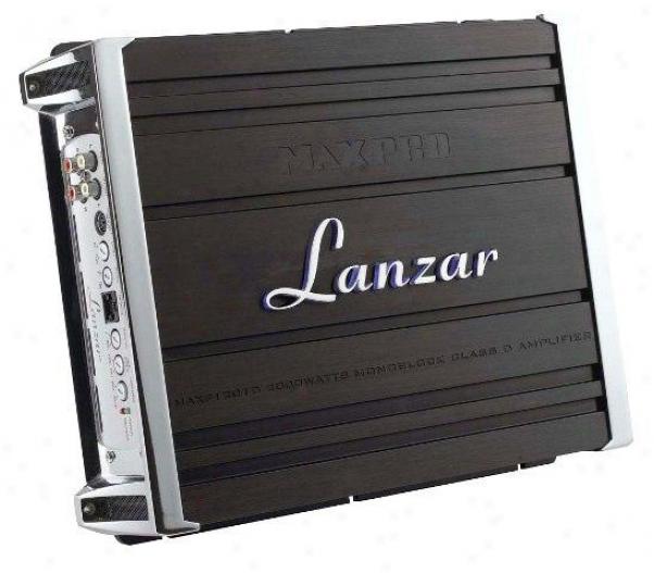 Lanzar 2000 Watts Monoblock Class D Amplifier Maxp1201d