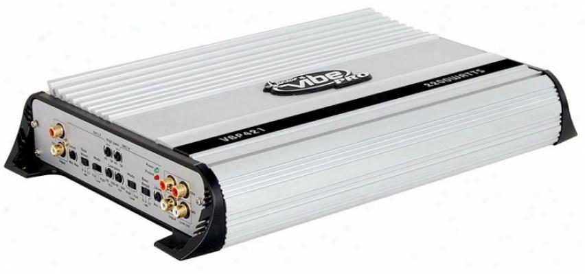 Lanzar 2200 Watts 4 Channel High Power Mosfet Amplifier