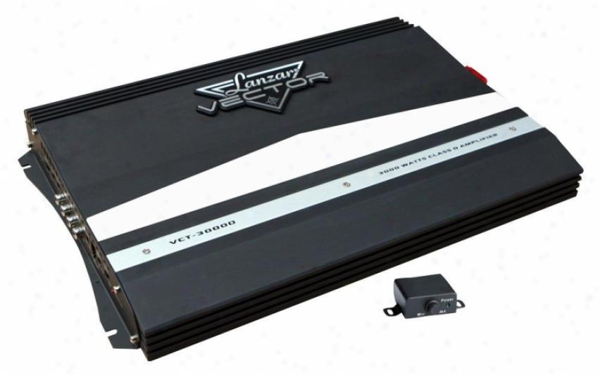 Lanzar 3000 Watts Class D Amplifier