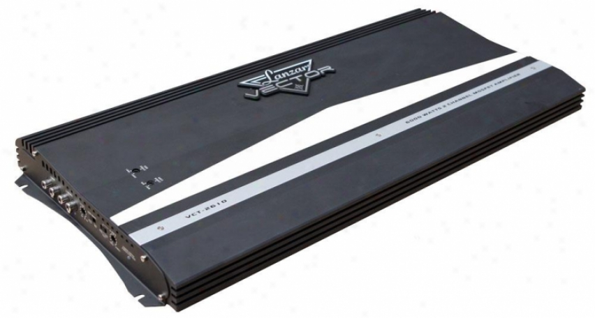 Lanzar 6000 Watts 2 Channel High Power Mosfet Amplifier