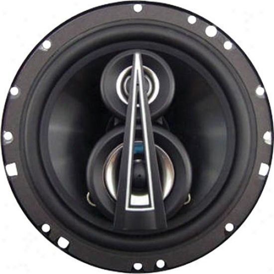 Lanzar 6.5'' Cooaxial Speakers 3 Way 200 Watts Mx63
