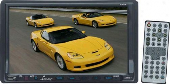Lanzar 7-in Double Noise Tft Touch Screen Dvd/vcd/cd /mp3/mp4/cd-r/usb/sd-mmc Card