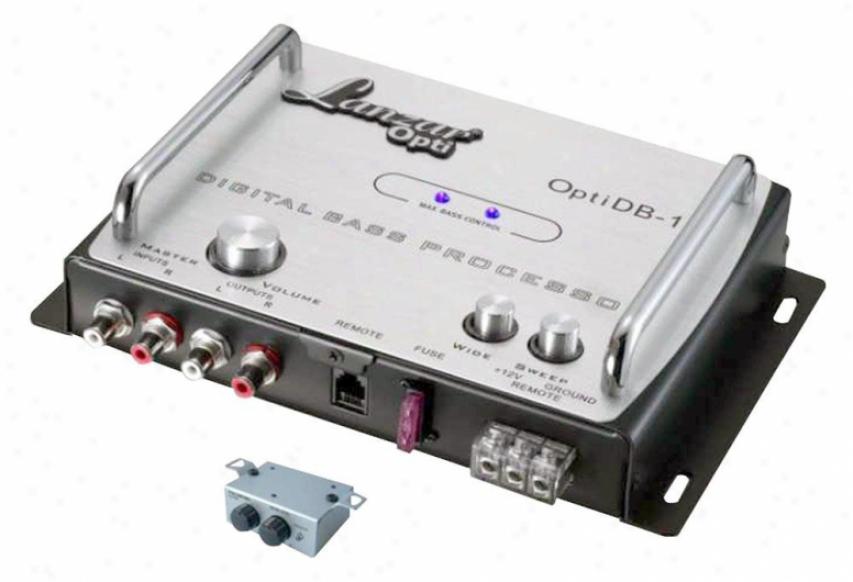 Lanzar Digital Bass Processor Optidb15