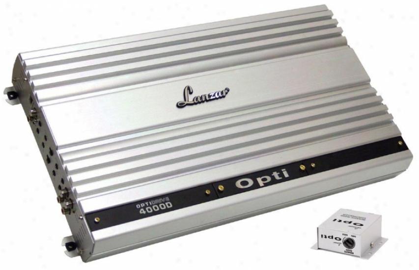 Lanzar Mono Block Competition Class Amplifier 4000 Watt Optidrive Opti4000d