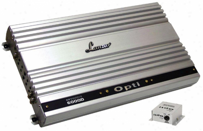 Lanzar Mono Block Competition Class Amplifier 6000 Watt Optidrive Opti6000d