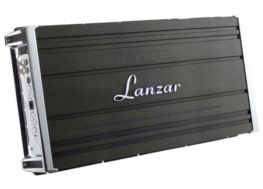 Lanzar Monoblock Class D Amplifier 5000 Watts Maxp2055d