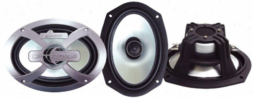 Lanzar Optidrive 6''x9'' Two-way Coaxial Speakers