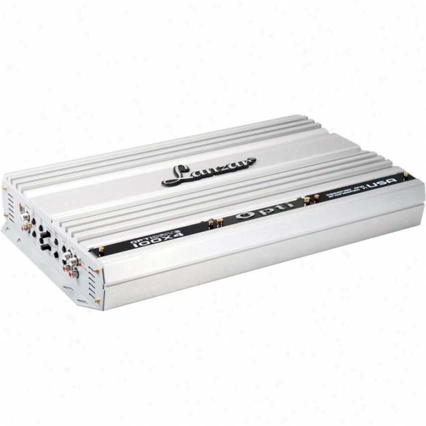 Lanzar Optidrive 800 Watt 4 Channel Compteition Class Mosfet Amplifier