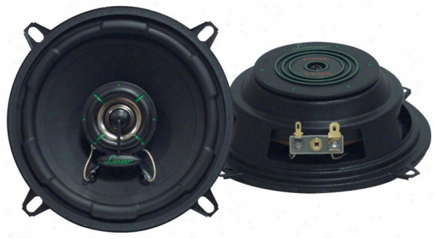 Lanzar Vx 5.25'' Two-way Slim Mount Speaker Systrm