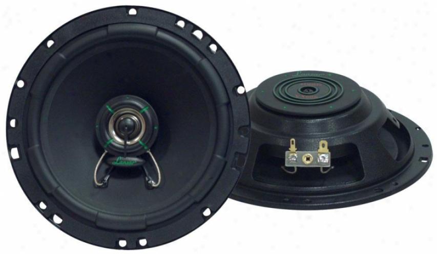Lanzar Vx 6.5'' Two-way Slim Mount Speaker System