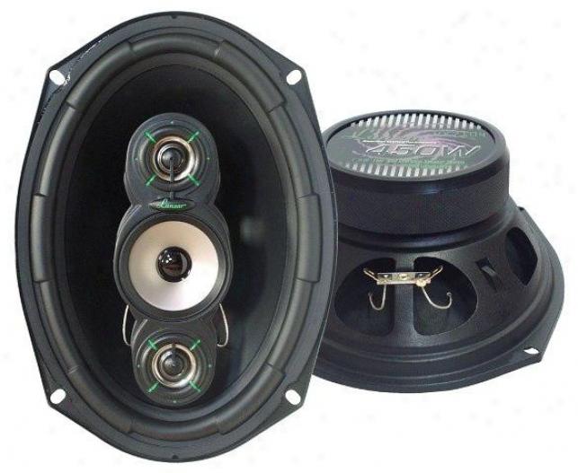 Lanzar Vx 7''x 10'' Four-way Speakers