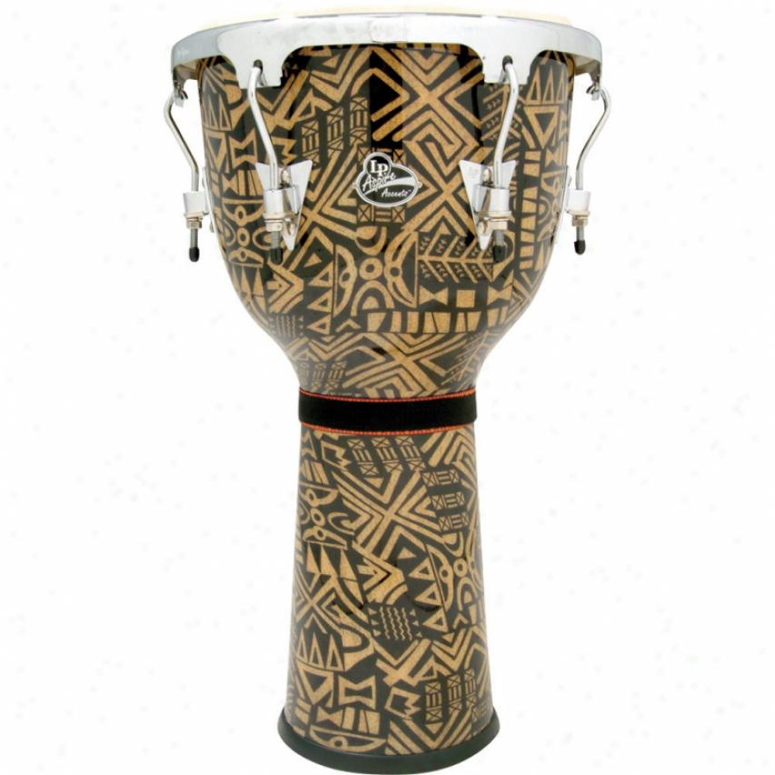 Latin Percussion Aspire Bowl-sha0ed Djembe Drum - Serengeti