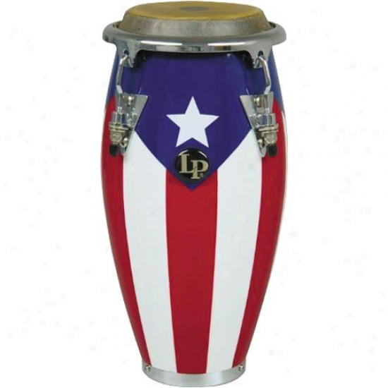 Latin Percussion Melody Collection Mimi Tunable Conga - Puerto Rican Flag