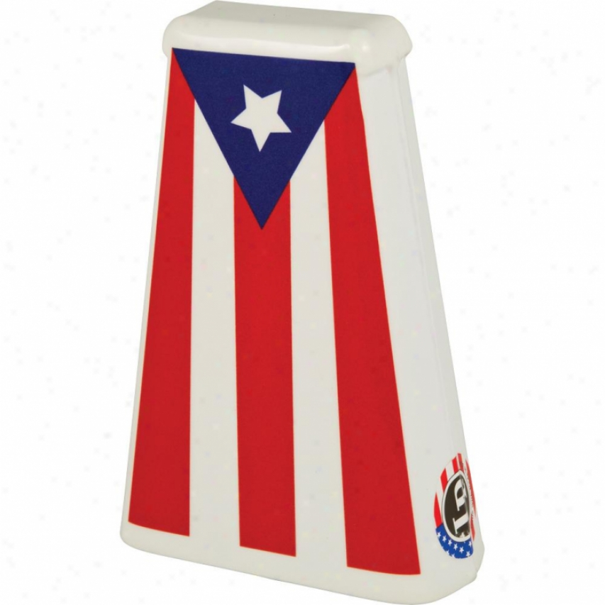 "Latin Percussion Puerto Rican Heritage Hand Bell 7.75"" Salsa Cowbell Es4pr"