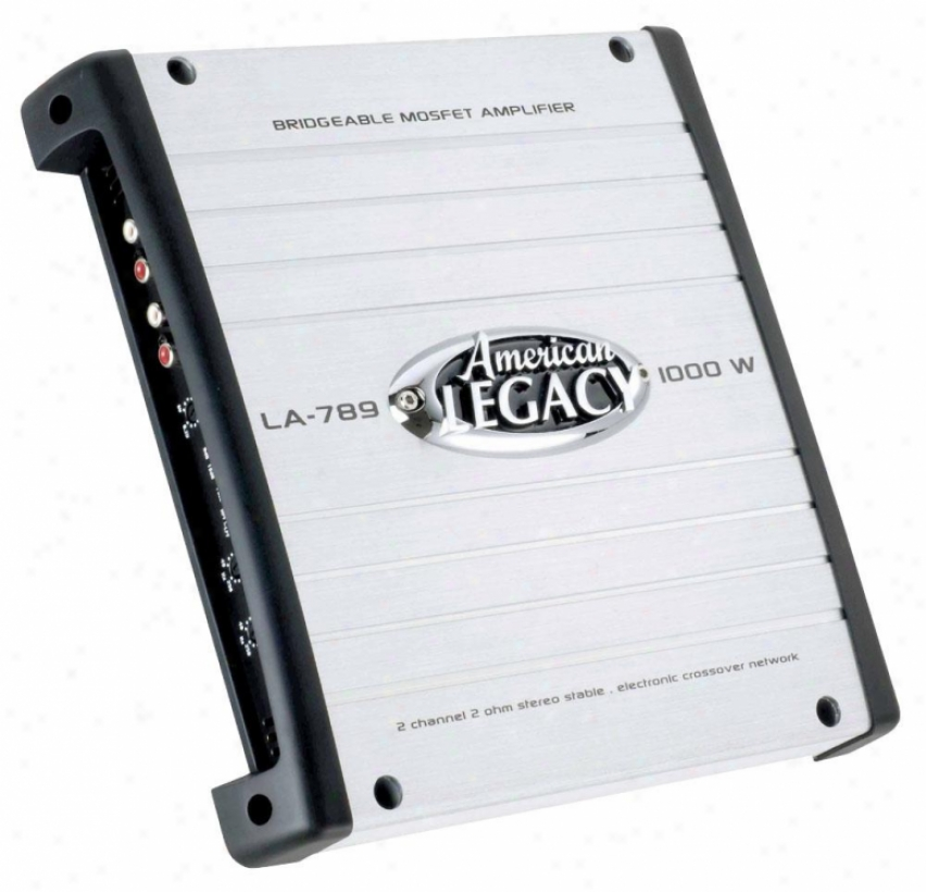 Legqcy 1000 Watts 2 Channel Bridgeable Mosfet Amplifier