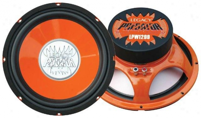 Legacy 12&#039;&#039; 1200 Watt Predator Series Subwoofer