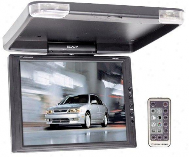 "Legacy 13"" Tft Lcd Roof Mount Monitor W/ir Traansmitter & Swivel"