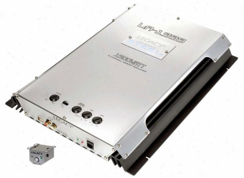 Legacy 1900 Watt 2 Channel Bridgeabpe Mosfet Amplifier
