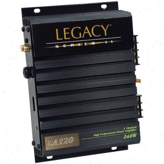 Legacy 2 Channel 240 WattA mplifier