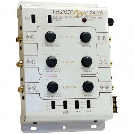 Legacy 3-way Stereo Electronic Crossover Network