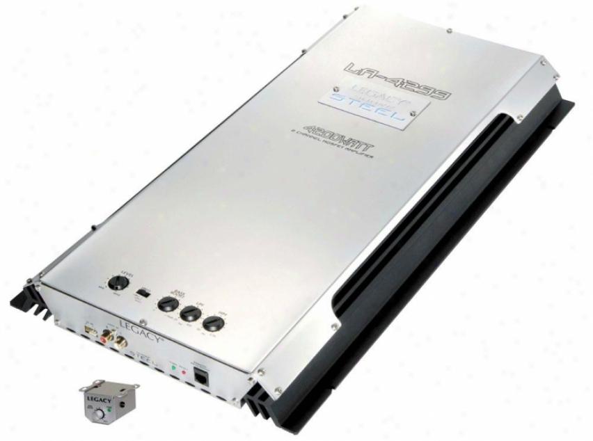 Legacy 4200 Watt 2 Channel Brkdgeable Mosfet Amplifier