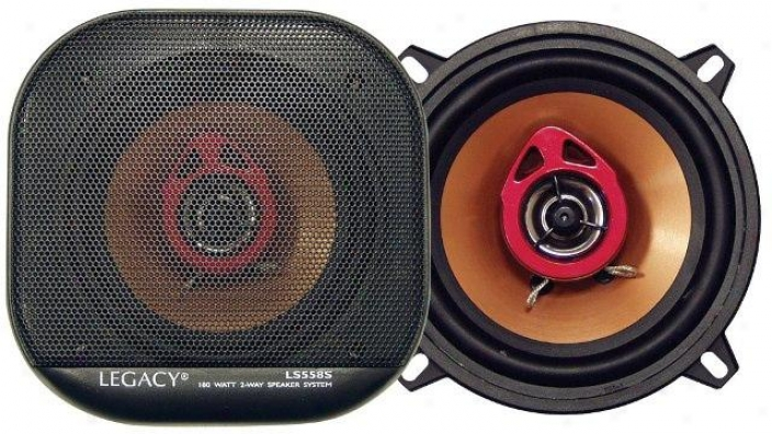 Legacy 5'' 180 Watt Two-way Speakers