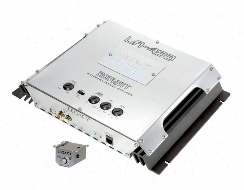 Legacy 800 Watt 2 Channel Bridgeable Mosfet Amplifier