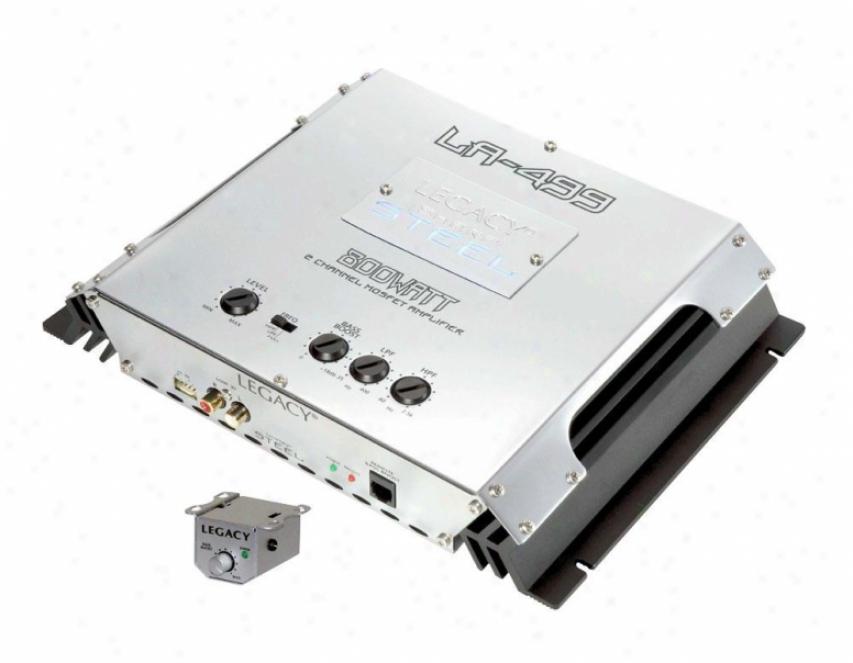 Legacy 800 Watt 2 Channel Bridgeable Mosfet Amplifier