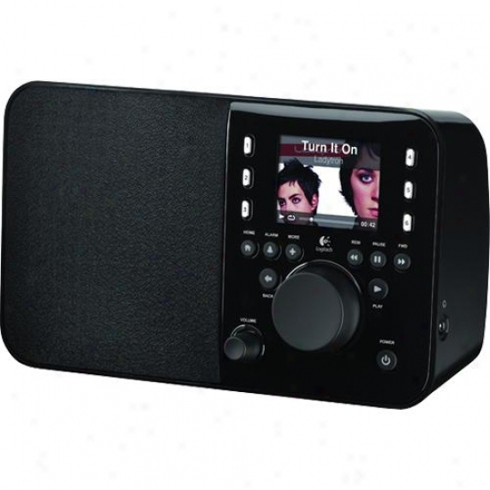 Logitech 930000101 Squeezebox Internet Radio - Black