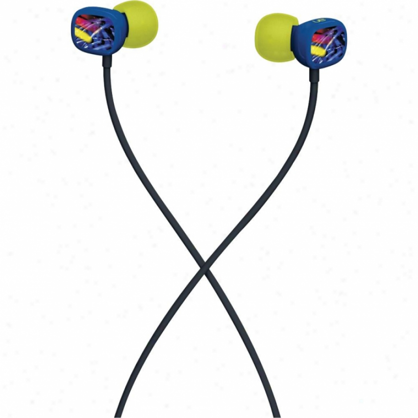 Logitech Ue100 Earphones Neon Lights