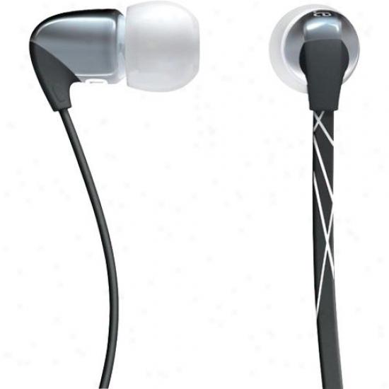 Logitech Ultimate Ears 500 Nise-isopating Earphones - Dark Silver - 985-000080