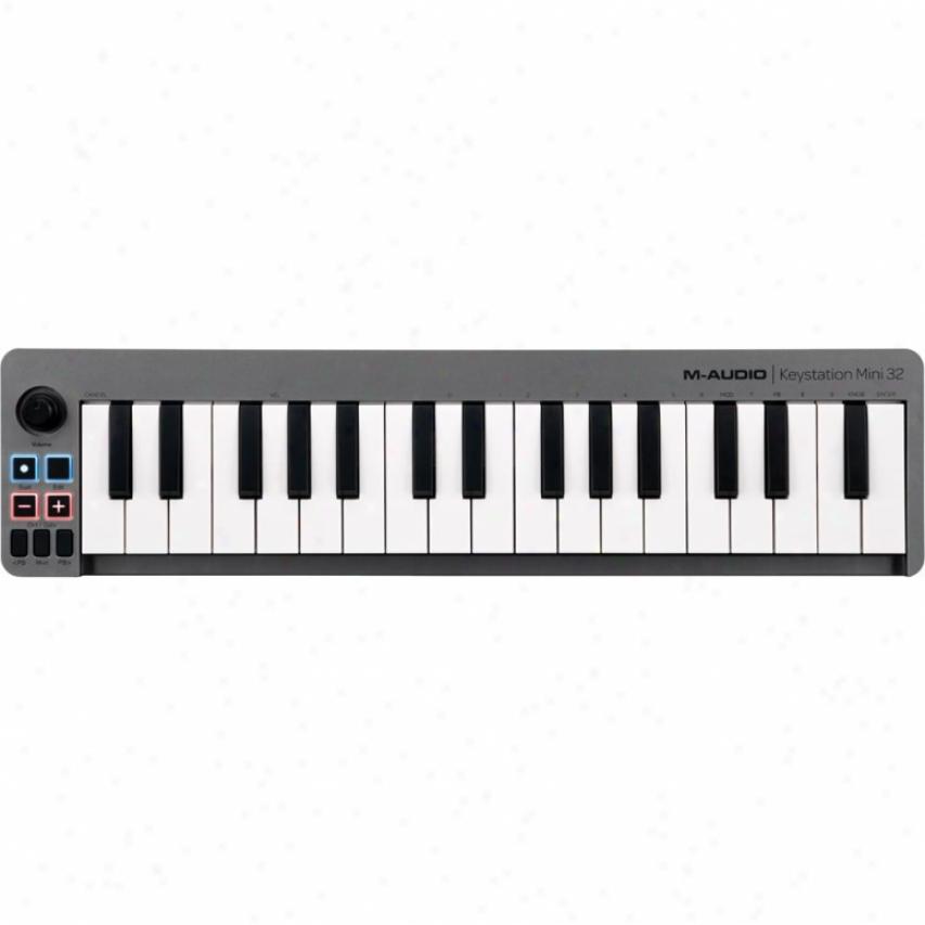 M-audio 32-key Keystation Midi Controller