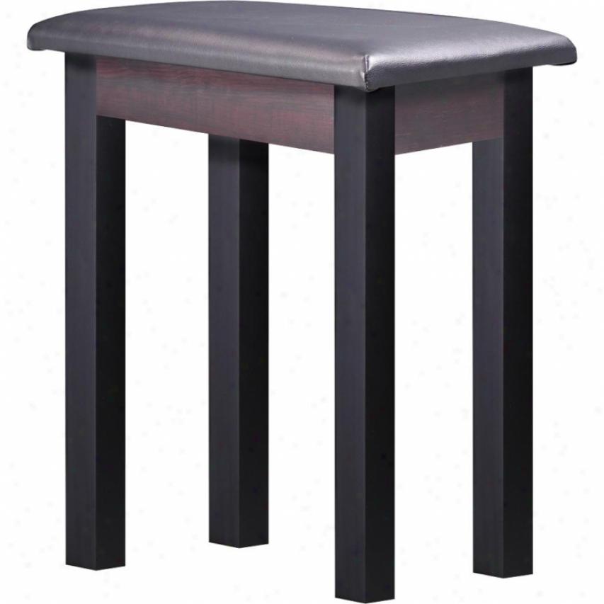 M-audio 3393 Piano Bench - Dark Wood