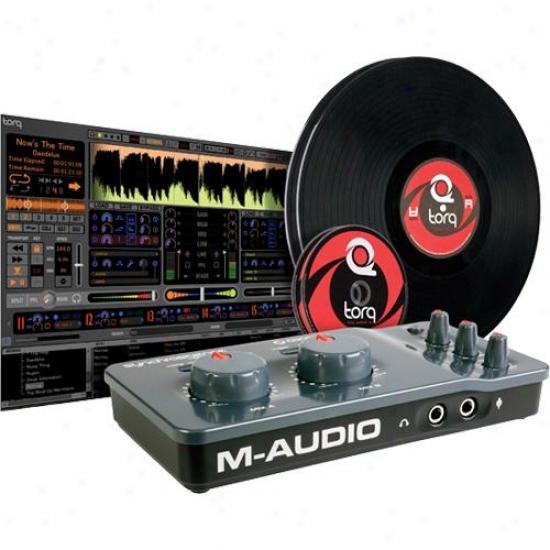 M-audio 9900-53066-12 Torq Conectiv Control For Vinyl/cd Pack V1.5