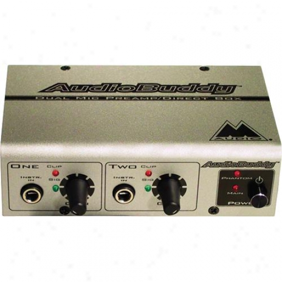 M-audio Audio Buddy Dual Microphone Preamp For Musicians