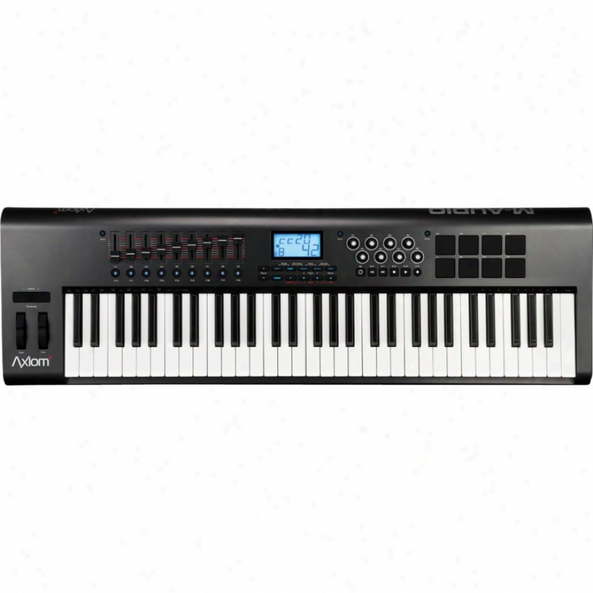 M-audio Axiom-61 Gen-2 61-key Semi-weighted Usb Midi Controller