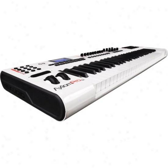 M-audio Axiompro61 Advanced 61-key Semi-weighted Usb Midi Controller
