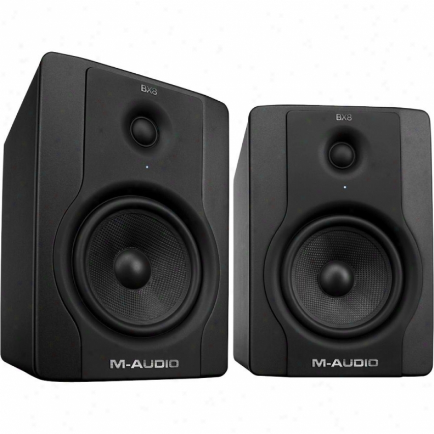M-audio Bx8 D2 130-watt Bi-amplified Studio Monitors - 9900-65175-00