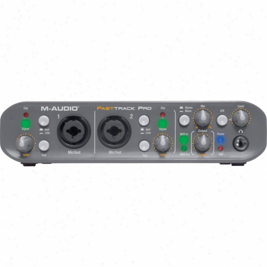 M-aurio Fast Track Pro With Pro Tools Mp